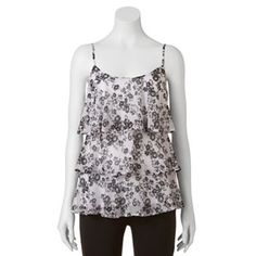 Candie's Tiered Tunic Tank - Juniors #Kohls