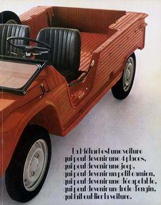 El Citroën Mehari (catálogos)