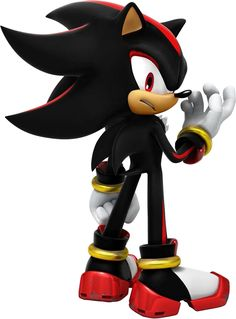 Shadow the Hedgehog is a major character in the Sonic the Hedgehog video game series and other. Shadow The Hedgehog, Sonic The Hedgehog, Hedgehog Game, Super Shadow, Shadow And Amy, Sonic And Shadow, Sonic Dash, Sonic And Amy, The Sonic