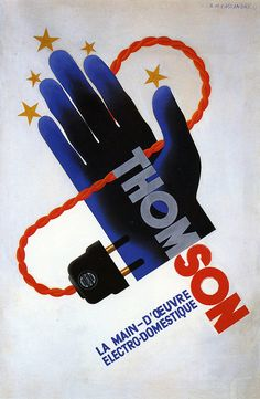 Thomson by A.M. Cassandre, 1931 by kitchener.lord, via Flickr