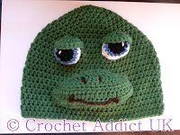 crochet Turtle Beanie, free pattern