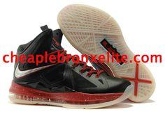 Miami Heat Away Nike Lebron X 10 Nike Basketball Shoes 21bfb6d6c300a
