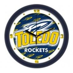 "Toledo Rockets 12"" Dimension Wall Clock"