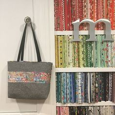 A Romance Between the Line It Up Tote and Liberty