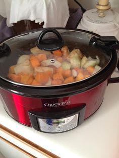 5-Ingredient Paleo: Pureed Butternut Squash Soup in a crock pot