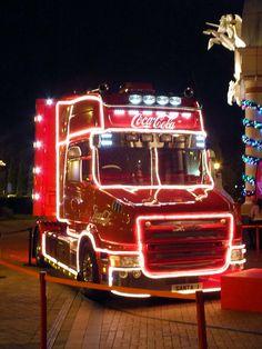 Coca-cola Truck at Trafford centre | Flickr - Photo Sharing!
