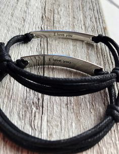 leather bracelet anklet black leather brown leather his hers adjustable boho unisex woman man girlfriend boyfriend friendship