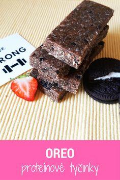OREO proteínové FIT tyčinky na zdravý spôsob zo samých zdravých ingrediencií (+ pár kúskov Orea na chuť) ;-)