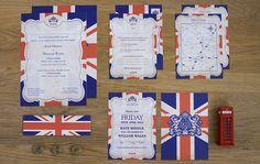 Union Jack Wedding Invitations   Flickr - Photo Sharing!