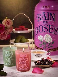 TWG Tea Bain de Roses & Tea Party Tea Scented Candles...i love them