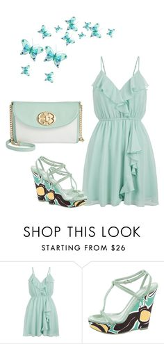 """Summer Dress Contest"" by kimberlydalessandro ❤ liked on Polyvore featuring New Look, Burberry and Emma Fox"