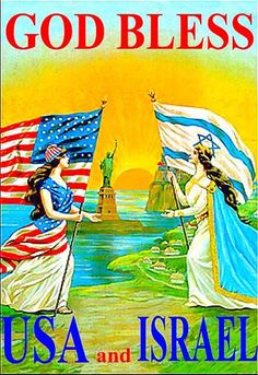 """Amen! <3.....AMEN TO THIS........YES...""""GOD"""" BLESS AMERICA AND ISRAEL...... I LOVE BOTH COUNTRIES."""