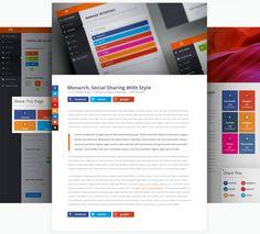 Monarch WP Social Sharing Plugin