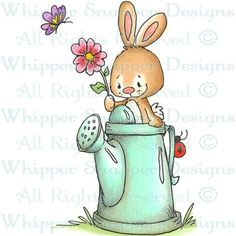 Bunny Watering Can