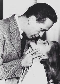Humphrey Bogart and Lauren Bacall! The passion-I feel it!!!