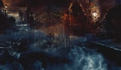 mysterious gate
