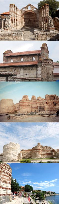 Nesebar(Melsambria) is an #ancient #town and one of the major seaside resorts on the Bulgarian Black Sea Coast, located in Burgas Province