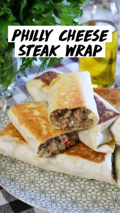 Mexican Food Recipes, Beef Recipes, Dinner Recipes, Cooking Recipes, Healthy Wrap Recipes, Quick Lunch Recipes, Chicken Wrap Recipes, Healthy Wraps, Chicken Wraps