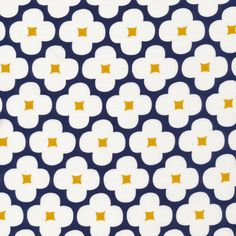 162412 Floret | Dark Navy Corduroy from Spring Quartet by Jessica Jones for Cloud9 Fabrics