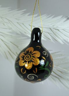 Painted Gourd. This one is AWESOME