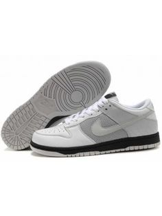 new products 10150 4c205 Nike Dunk Low Dam Svart Grå Vit SE527291
