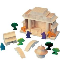 block sets from many cultures of the world