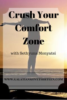 Getting uncomfortable is not easy, but it's necessary. Find out why!