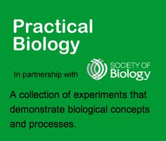 This website is for teachers of biology in schools and colleges. It is a collection of experiments that demonstrate a wide range of biological concepts and processes.