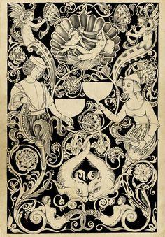 Studies for Tarot Deck