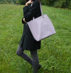 Brown Leather Totes, Grey Leather, Italian Leather, Wool Felt, Tote Bag, Facebook, Pictures, Bags, Shopping