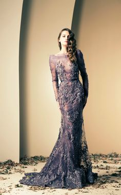 Ziad Nakad Fall/Winter 2014 Haute Couture – Tulle Tales