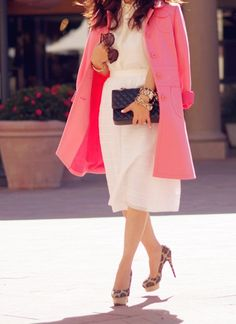 9 eye-catching Pastel Pink coats meet their sole mates 2013 fashion  Pastel Pink coats #Pastel #Pink #coats loveitsomuch.com