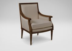 Giselle Chair Love the lines - would be great in a gray w/terrific fabric...  Current Favorite...