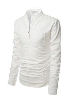 The Ultimate Collar Fashion Vocabulary   Mandarin collar, Men's ...