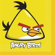 Save $2.00 on Angry Birds Lunch Napkins Party Accessory; only $3.00