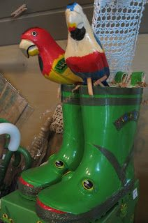 These Kidorable rainy day boots are kickin'!!! Sold in the loft at Bloom for happy puddle jumping!!