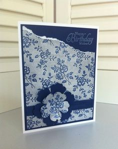 I LOVE LACE, Stampin' Up!
