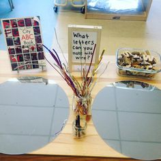 "Provocation, ""What Letters Can You Make With Wire?"" (from Wonders in Kindergarten, Ana Marie Ralph on Instagram: https://www.instagram.com/p/BBItSCLJH2J/?taken-by=anamariaralph)"