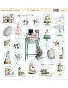 Papel Scrapbook, Baby Scrapbook, Paper Art, Paper Crafts, Baby Shower Cards, Hobonichi, Journal Cards, Travelers Notebook, Die Cutting