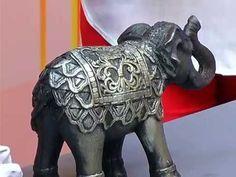 Como pintar cerámica con técnica de pincel seco Elefante Indu - YouTube Elephant Parade, Elephant Love, Elephant Figurines, Decoupage, Buddha, Diy And Crafts, Lion Sculpture, Christmas Decorations, Wall Decor