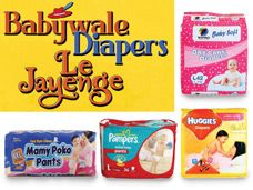 BABYWALE DIAPERS LE JAYENGE!!