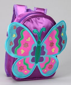 Look what I found on #zulily! Purple Wing Backpack by Princess Expressions #zulilyfinds