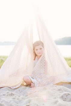 Bellini Portraits - cute fabric idea