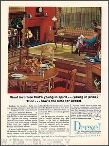 early American decor Maple Furniture, Furniture Ads, Vintage Furniture, Cool Furniture, Kitchen Dinning Room, Home Decor Kitchen, Mid Century Decor, Mid Century House, Vintage Interior Design