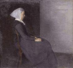 Vilhelm Hammershøi, 'Frederikke Amalie Hammershøi', née Rentzmann (1838-1914), the artist's mother, 1886