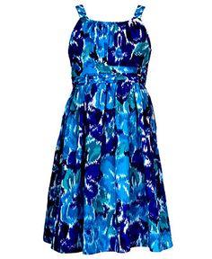 Avery??   Rare Editions Girls Dress, Girls Floral Sundress - Kids Girls Dresses - Macy's