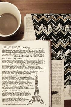 From Paris to London — rebeccablairart: Notebook, #037