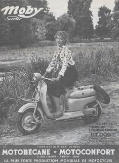 1955 Motoconfort Scooter