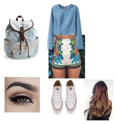 """""""Untitled #250"""" by luisalerman on Polyvore featuring Converse and Aéropostale"""