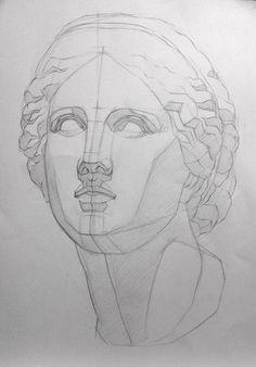 academic drawing – Handmade Everything Anatomy Drawing, Anatomy Art, Drawing Heads, Painting & Drawing, Drawing Sketches, Art Sketches, Basic Drawing, Face Sketch, Volume Art